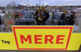 <p>Der russische Discounter Torgservis hat in Leipzig seine erste Filiale in Deutschland eröffnet.Mit niedrigen Preisen und spärlichem Design bietet der Markt unter der BezeichnungMereauf 1000 Quadratmetern vor allem Lebensmittel an.</p>