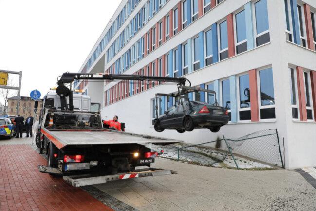 <p>Der Fahrer wurde allerdings von der Polizei gestellt.</p>