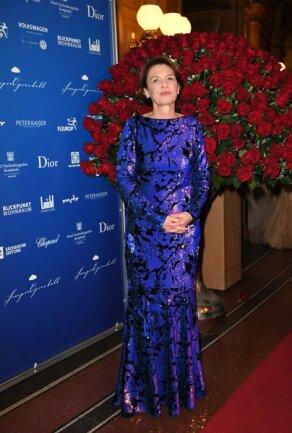 <p>Elke Büdenbender, die Ehefrau des Bundespräsidenten</p>
