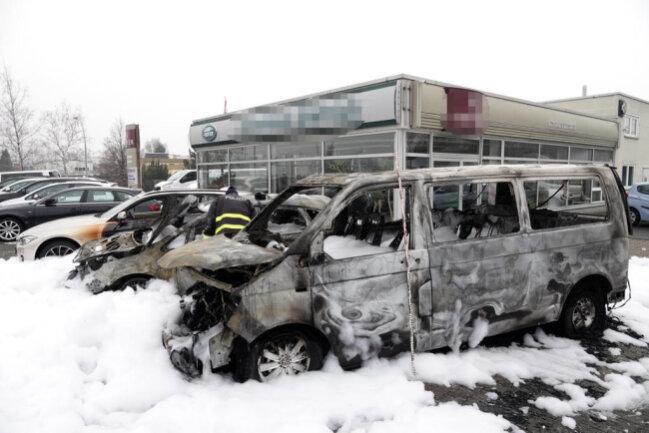 <p>Der entstandene Schaden beläuft sich auf 60000 Euro.</p>
