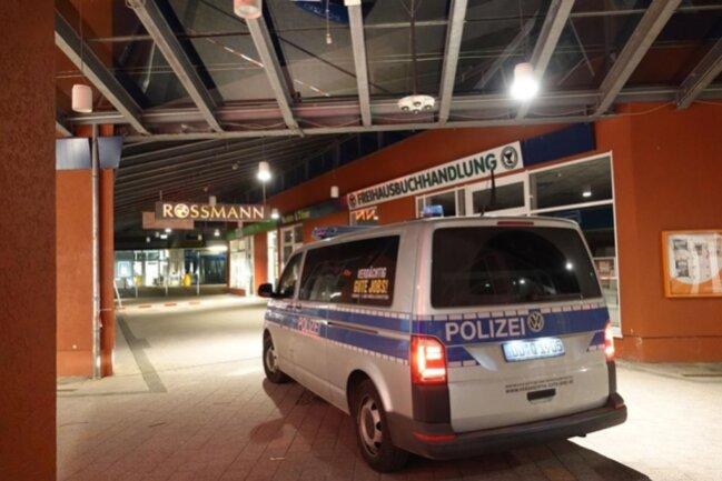 <p>Die Polizei ist am Morgen vor Ort.</p>