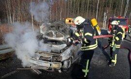 <p>Ein Dacia war in der Auffahrt in RichtungErfurtgegen 15.45 Uhr in Brand geraten.Daraufhin musste der Fahrer das Auto abstellen und schleunigst verlassen.</p>