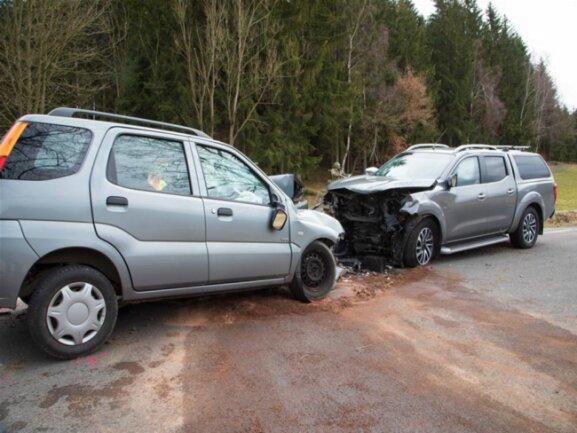 <p>Der Nissanfahrer wurde leicht verletzt.</p>