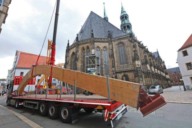 <p>Die Marienkirche ist das größte Gotteshaus in Zwickau.</p>