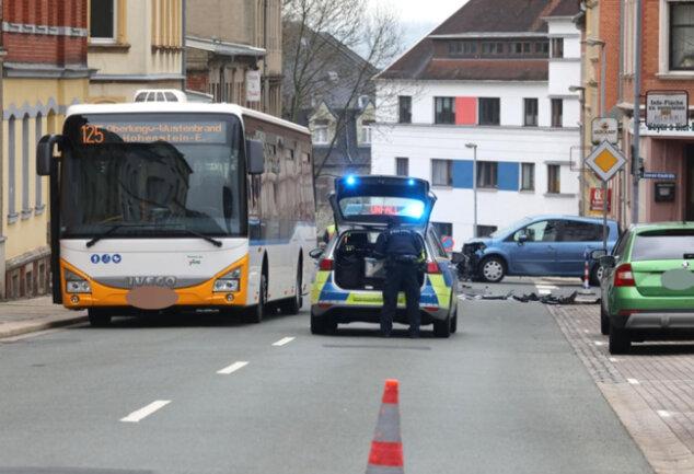 <p>Verletzt wurde laut der Polizeidirektion Zwickauniemand.</p>