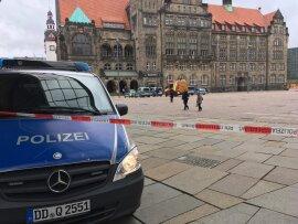 <p>Am Dienstagmorgen musste das Chemnitzer Rathaus wegen einer Gewaltandrohung evakuiert werden.</p>