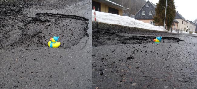 <p>Über die neuen Badeteiche freuen sich die Enten, zumindest solche&nbsp;aus Gummi, die mit dem Autoverkehr keine Probleme haben.&nbsp;</p>