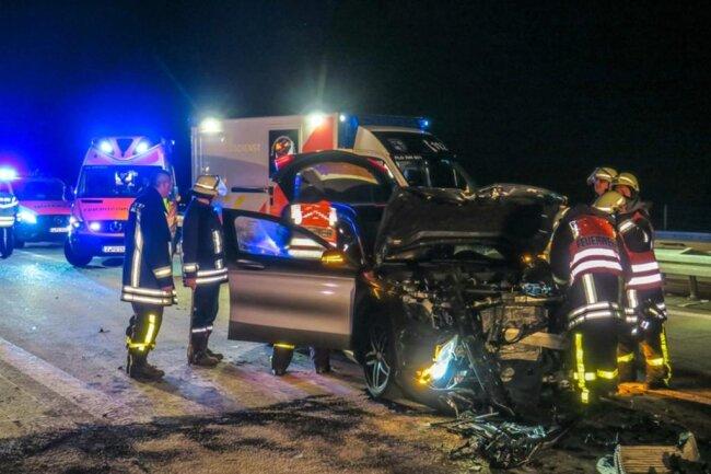 <p>Laut Polizei war ein Skoda auf einen Chevrolet aufgefahren.</p>