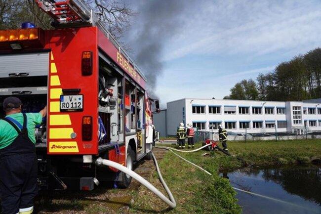 <p>Wie genau es zum Brand kommen konnte, wird untersucht.</p>