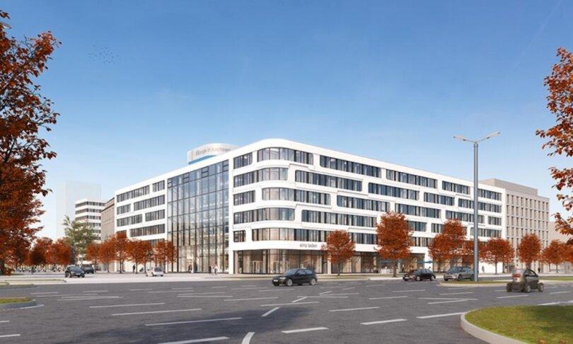 <p>Einnehmen wird der Neubau, der direkt an das Archäologiemuseum am Stefan-Heym-Platz und an das frühere Bundesbankgebäude am Johannisplatz anschließt, eine Fläche von etwa 5700 Quadratmetern.</p>