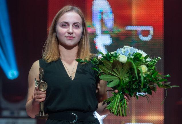 <p>Als Nachwuchssportlerin des Jahres wurde Boxerin Maxi Klötzer geehrt.</p>