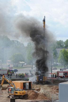 <p>Ein Bauarbeiter wurde verletzt und musste in ein Krankenhaus gebracht werden.</p>