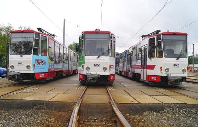 <p>Zwischen 11 und 17 Uhr können die Besucher in die Geschichte der Straßenbahnen eintauchen.</p>