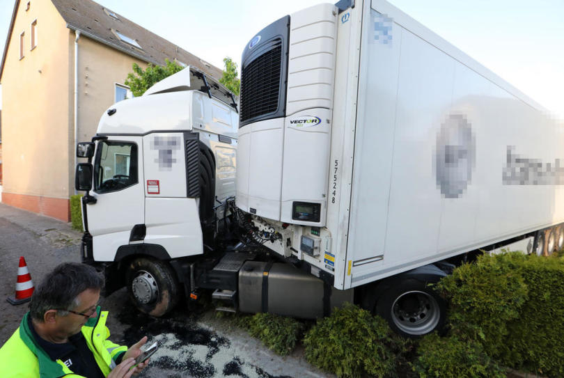 <p>Gegen 4 Uhr ereignete sich ein schwerer Verkehrsunfall.</p>