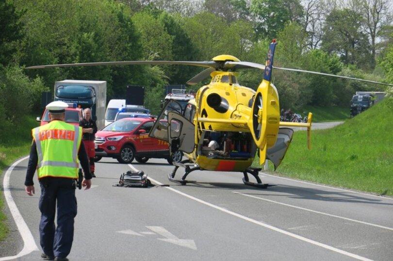 <p>Dabei wurde ein 89-jähriger Mann schwer verletzt.</p>