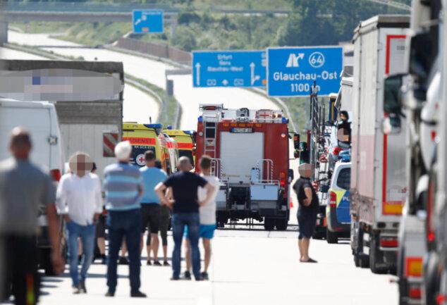 <p>Feuerwehr und&nbsp;Rettungsdienst&nbsp;waren im Einsatz.</p>