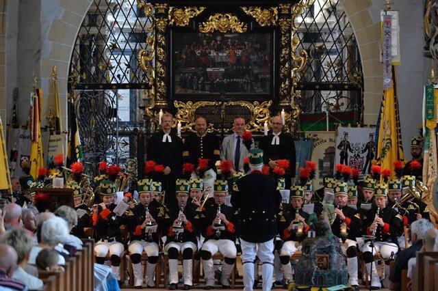 <p>Traditionell fand vorab ein Berggottesdienst im Dom St. Marien statt.&nbsp;</p>
