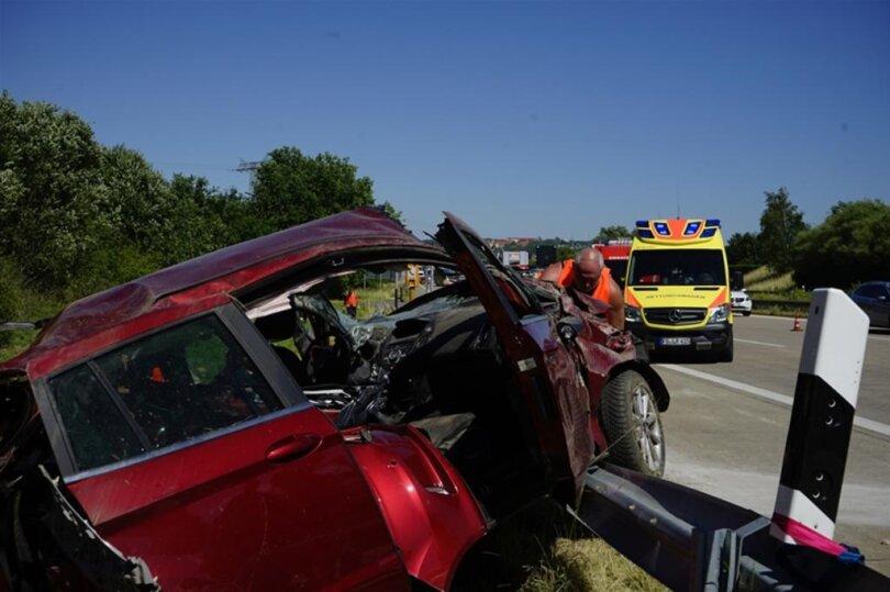 <p>Die Feuerwehr Frankenberg rückte mit 4 Fahrzeugen und 16 Einsatzkräften aus.</p>