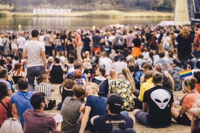 <p>Still ruht der See - und das Publikum entspannt.</p>