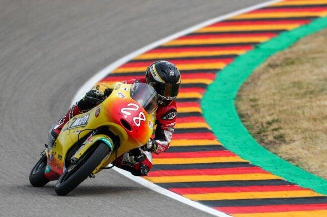 <p>Dirk Geiger (Kiefer Racing Team) landete bei seinem Wildcard-Start auf Platz 23.</p>