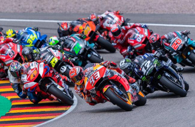 <p>Der Spanier gewann am Sachsenring mit 4,6 Sekunden Vorsprung.</p>