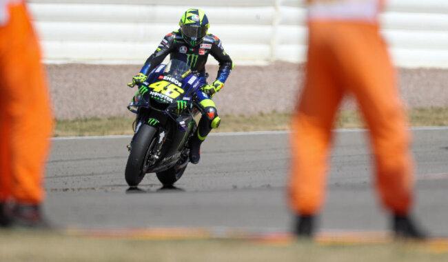 <p>Publikumsliebling Valentino Rossi.</p>