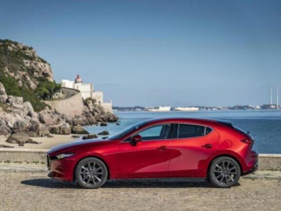 <p>Der Mazda 3.</p>