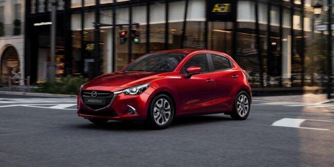 <p>Der Mazda 2.</p>
