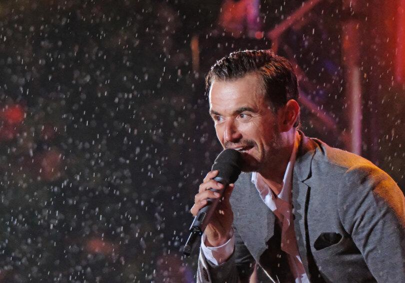 <p>Florian Silbereisen war der Moderator der Show. Doch der Schlagerstar sang auch an diesem Abend.</p>