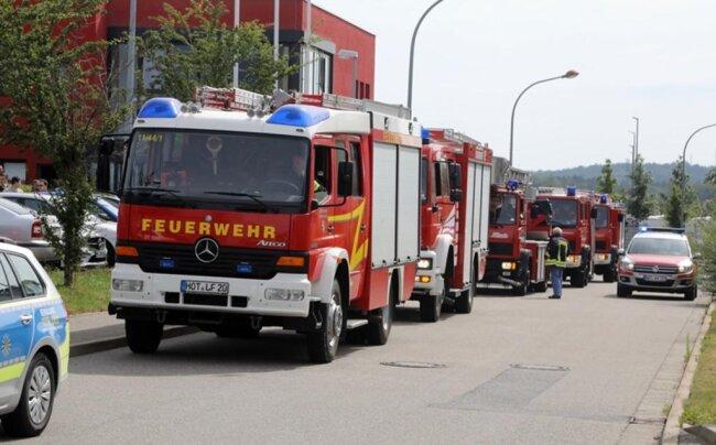 <p>Nach Angaben des Einsatzleiters der Feuerwehr, Rico Leuschner, hatte ein beherzter Mitarbeiter sofort zum Feuerlöscher gegriffen und ein Ausbreiten verhindert.</p>
