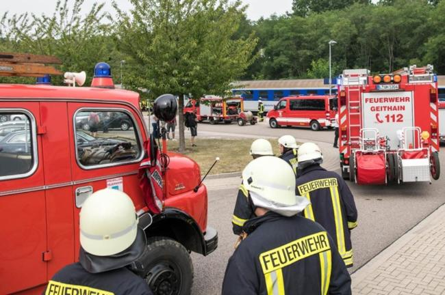 <p>Es gibt keine Verletzten», sagte ein Sprecher. Die Feuerwehr hatte den Brand schnell gelöscht.</p>