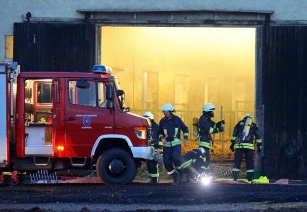 <p>Personen kamen bei dem Brand ebenfalls nicht zu Schaden.</p>