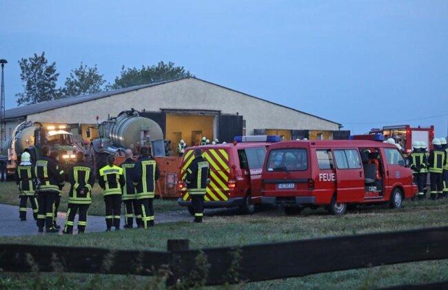 <p>Im Einsatz waren die Wehren aus Schönberg, Pfaffroda, Meerane, Oberwiera, der Rettungdienst und die Polizei.</p>