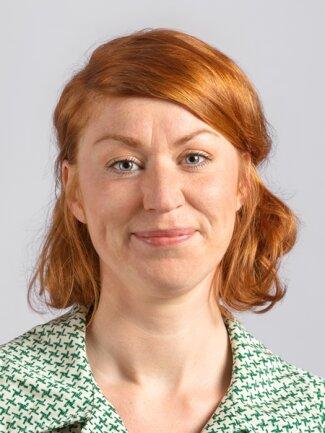 <p>Antonia Mertsching, Dresden, 1985,<br /> Politikwissenschaftlerin</p>