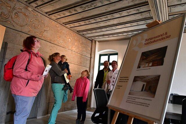 <p>In Freiberg führte der Tag des offenen Denkmals die Besucher unter anderem in die Lokalredaktion der&nbsp;Freien Presse&nbsp;Obermarkt.&nbsp;</p>