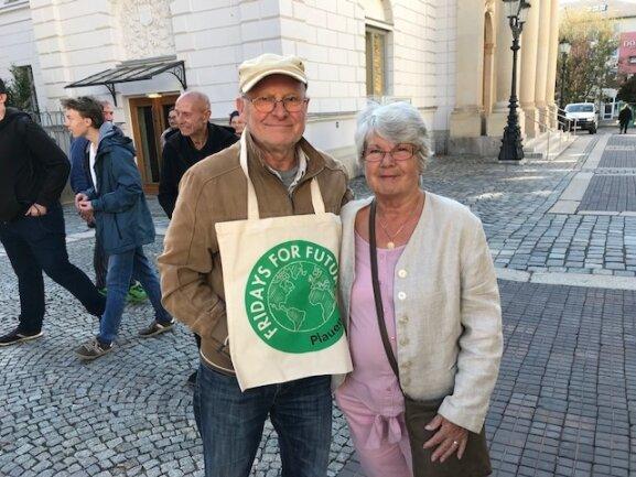 <p>Die Lebensgefährten Hans-Jürgen Damaske und Elisabeth Schreiber machen mit.</p>