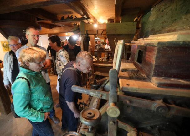 <p>Die derzeit vorhandene Mühlentechnik stammt aus der zweiten Hälfte des 19. Jahrhunderts.</p>