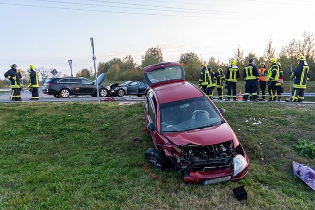 <p>Der Unfall hatte sich kurz vor 18 Uhr ereignet.</p>
