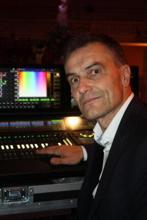 <p>Der Tontechniker Michael Dannowski</p>