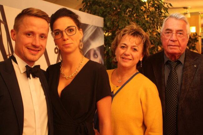 <p>Christoph Donath-Franke, Lucie Strietzel, Andrea Strietzel und Klaus Strietzel (von links)</p>