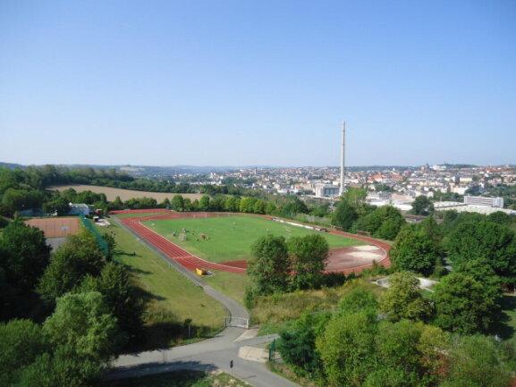 <p>Basketballspiele über den Dächern der Stadt</p>