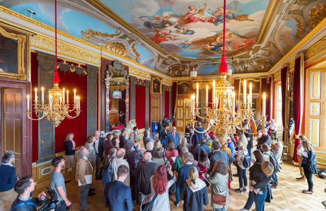<p>Das Historische Grüne Gewölbe wurde zwischen 1723 und 1730 vom sächsischen Kurfürst und späteren polnischen König August dem Starken angelegt.</p>
