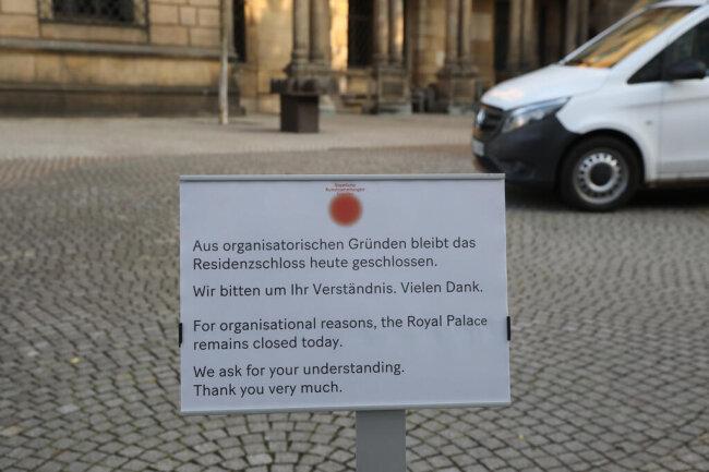 <p>Das Museum ist für Besucher geschlossen.&nbsp;</p>