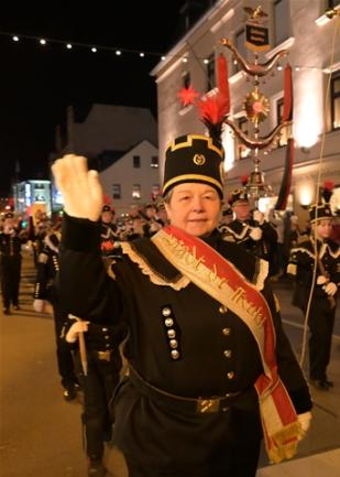 "<p>Das Bergmusikkorps ""Glück Auf"" Oelsnitz.</p>"