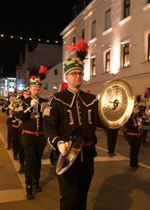 <p>Landesbergmusikkorps - Musikstadt der Bergstadt Schneeberg.</p>