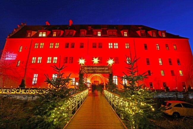 <p>Auch die 10. Schlossweihnacht im Schloss Osterstein in Zwickau geht am Montag zu Ende.</p>