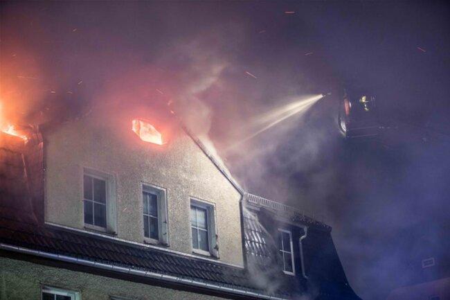 <p>Die Feuerwehr war mit insgesamt 61 Personen im Einsatz.</p>