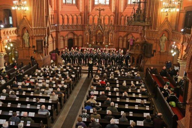 <p>Aus diesem Anlass begann am Samstag&nbsp; 8.30 Uhr eine ökumenische Gedenkfeier in der Moritzkirche, ...</p>