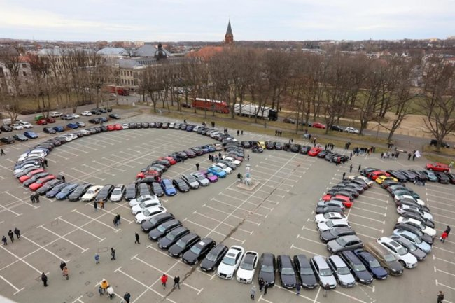 <p>Der bisherige Rekord, den der slowakische Audi-Club International Slovensko hielt, lag bei 196 Fahrzeugen.</p>