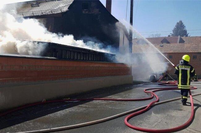 <p>Sie konnten das Feuer schnell unter Kontrolle bringen. Nach ersten Angaben wurde niemand verletzt. Zur Brandursache ist noch nichts bekannt.&nbsp;</p>